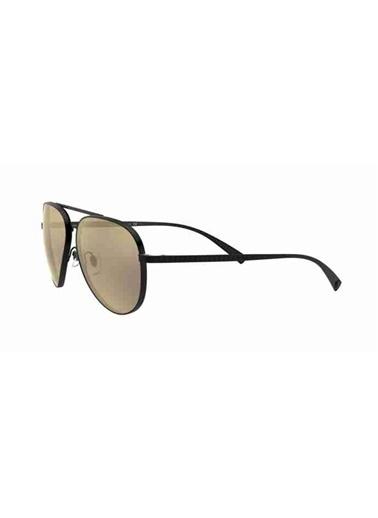 Versace Versace 2217 12615A 59 Ekartman Erkek Güneş Gözlüğü Siyah